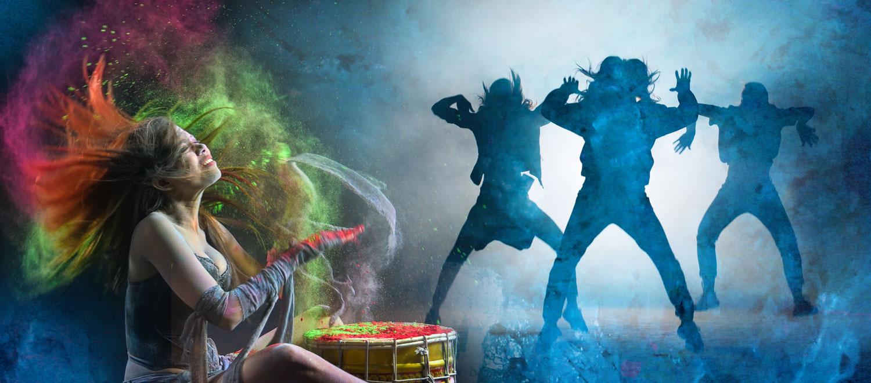 Energetic Drum Dance