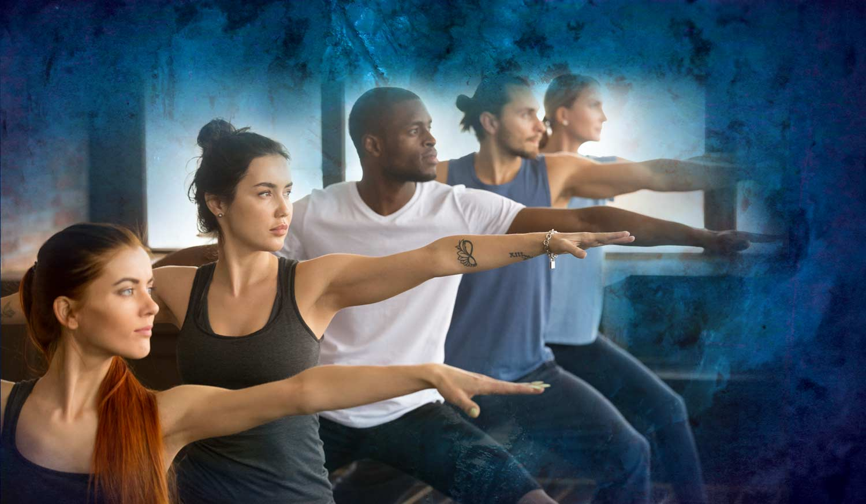 Stabil im Leben mit Yoga